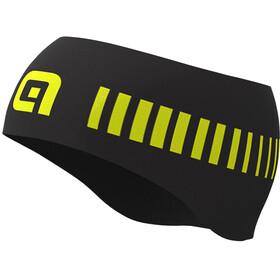 Alé Cycling Strada Stirnband Herren schwarz/gelb